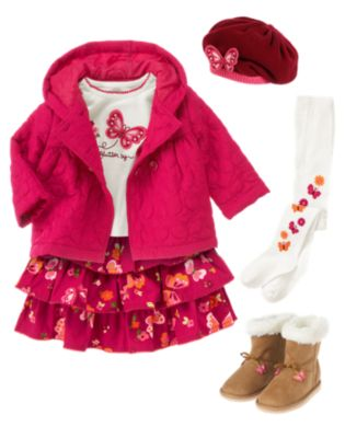 Gymboree - Butterfly Girl 8/20/12